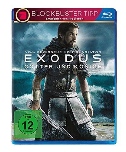 Exodus: Götter und Könige (Blu-ray) für 4,25€ (Amazon Prime & Müller)