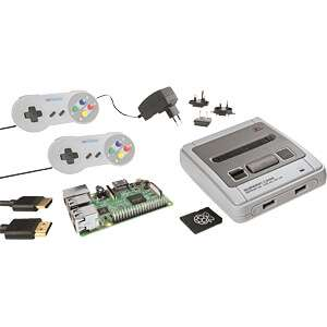 [Reichelt Elektronik] Raspberry Pi 3 B+ Bundle im SNES-Design (Abholung oder zzgl. Versand 5,60€)