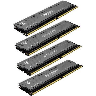 Crucial Ballistix Tactical Tracer RGB 64 GB: 4 x 16 GB - 2666 MHz / PC4-21300 - CL16 (BLT4C16G4D26BFT4)