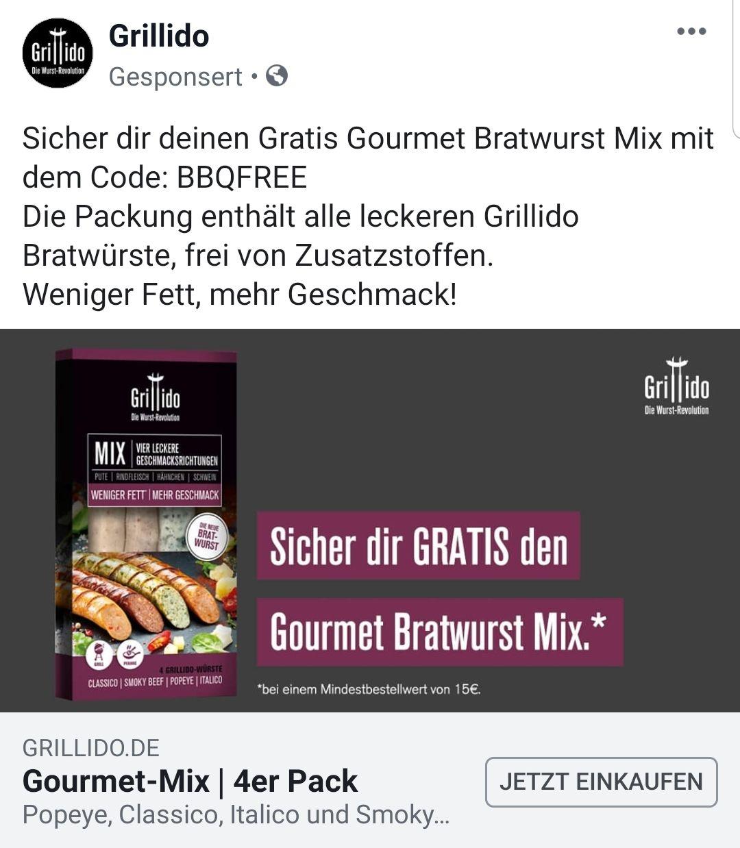 Gourmet Mix 4er Pack (Nur Versand zahlen)