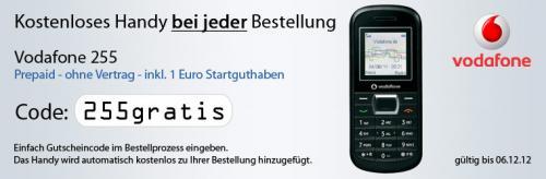 Gratis Handy zu jeder Bestellung bei deltatecc!
