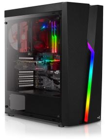 Gaming PC Ninja mit AMD Ryzen 5 2600, GTX 1660 OC, 8GB RAM, 480GB SSD, RGB Gehäuse, be quiet! System Power 9 500W für 614,89€