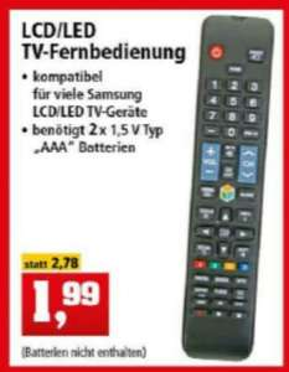 TV-Fernbedienung Samsung kompatibel [Thomas Philipps]
