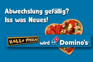 [Gutschein-/ Preisfehler] Dominos Pizzabrötchen & Bread Cheese gratis