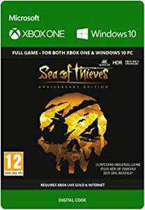Sea of Thieves: Anniversary Edition (Xbox One/PC Play Anywhere) für 23,30€ (Amazon UK)