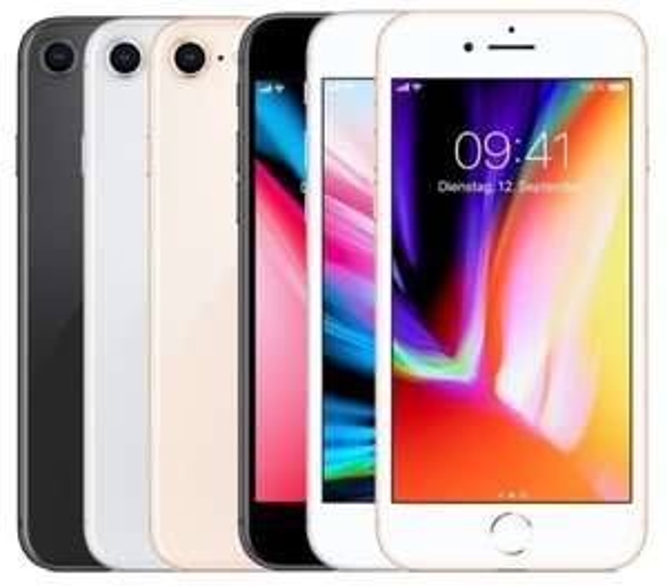 "Apple iPhone 8 64 Gb Gold / Silber / Spacegrau B-Ware ""neuwertig"" Ust-Ausweis online @smallbug"