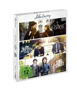 John Carney Collection, 3 Musikfilme auf Blu-ray: Once, Can a Song Safe Your Life? und Sing Street
