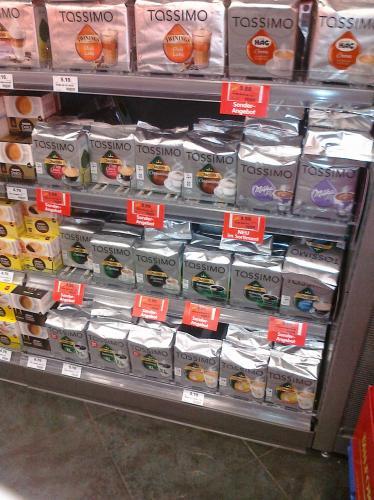 [Lokal Karlsruhe] Tassimo T-Discs 3,99 Euro