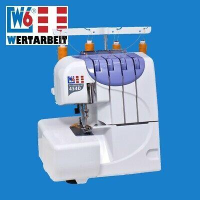 W6 Wertarbeit Overlock Nähmaschine N 454D