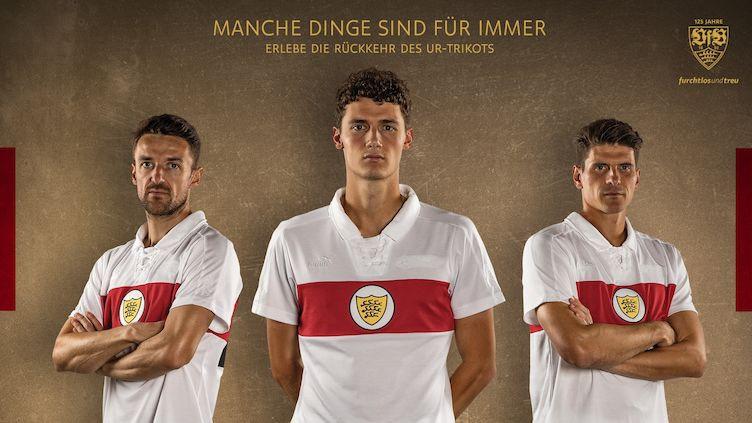 VfB Stuttgart Ur-Trikot 125 Jahre