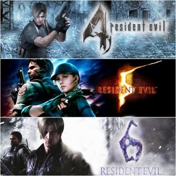 Resident Evil Triple Bundle Pack (PS4) für 14,99€ (PSN)