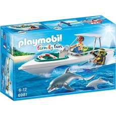 [ALTERNATE] PLAYMOBIL 6981 Tauchausflug mit Sportboot, Konstruktionsspielzeug