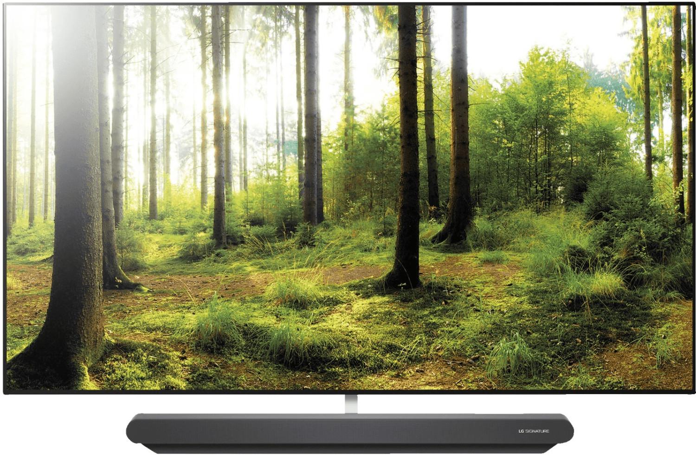 "LG Signature OLED65G8 65"" 4K UHD Fernseher (OLED, 120Hz nativ, 10bit Panel, HDR10, HLG, Dolby Vision, Twin Triple Tuner, WebOS)"