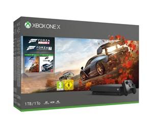 Microsoft Xbox One X - 1TB (Forza Horizon 4 + Forza Motorsport 7 Bundle)