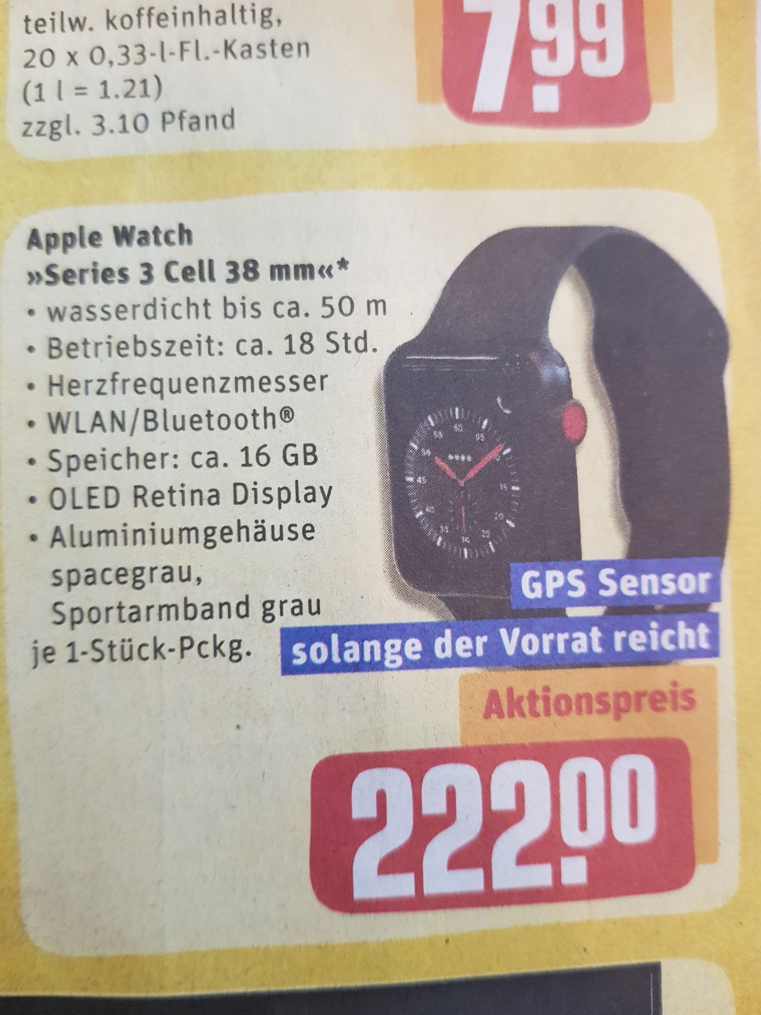 [Lokal, Kall, Eifel] Apple Watch series 3, cellular 38mm