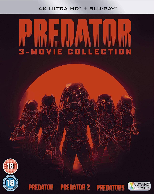 Predator Trilogy (4K Blu-ray + Blu-ray) für 22,87€ (Zavvi)