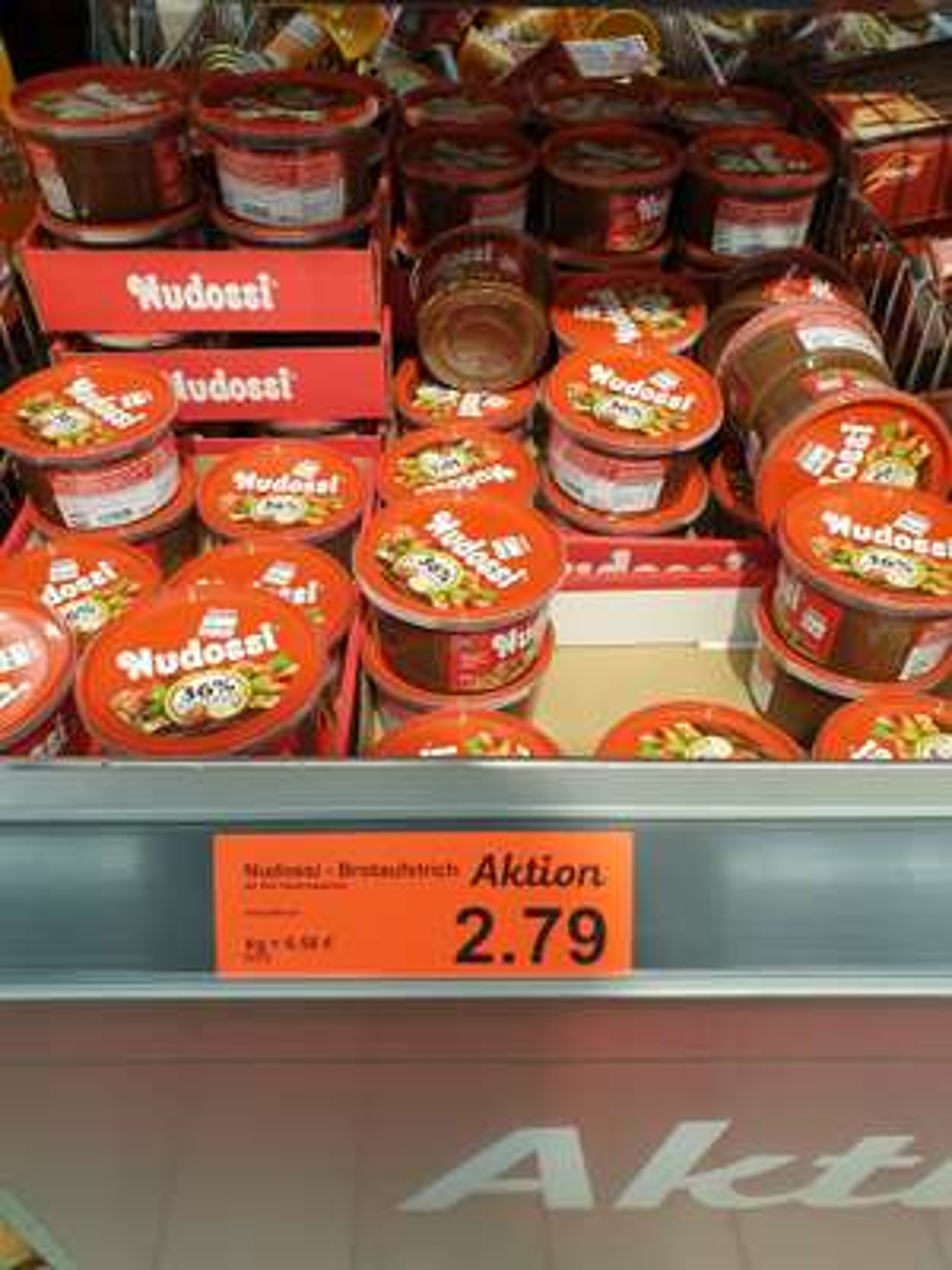 [Lokal Berlin] Aldi Nord Nudossi 425 g für 2,79 €