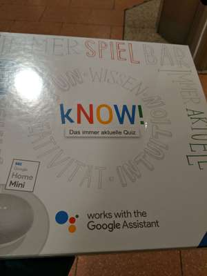 [Lokal] Ravensburger know mit Google Home mini bei Smyths Toys in Ludwigshafen