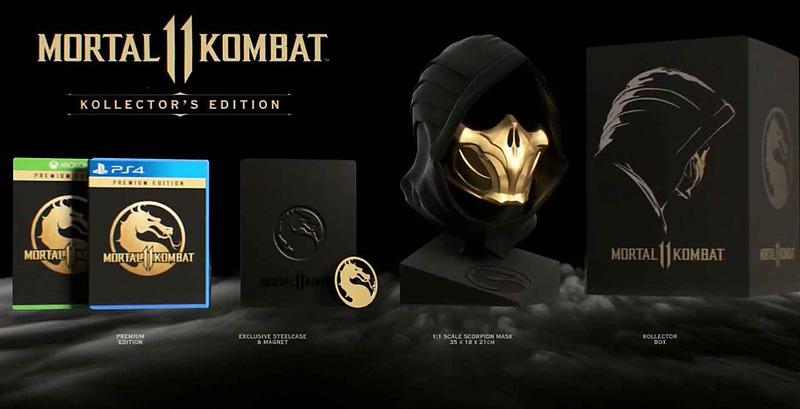 Mortal Kombat 11 Collectors Edition für XBox One / Playstation 4