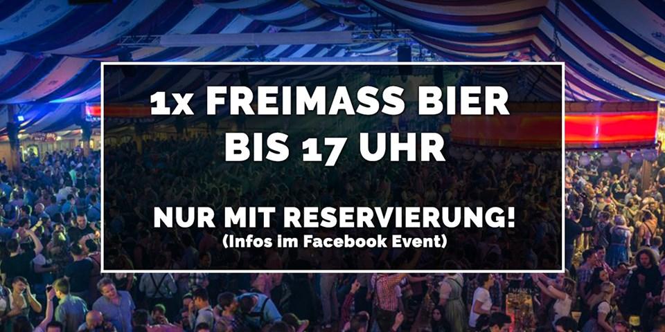 [Stuttgart] Frühlingsfest am 8. Mai 16:00 - für 5 Personen reservieren inklusive 5 Maß Bier  nur 13,50 €