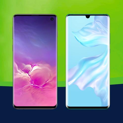 Samsung Galaxy S10 (49€ ZZ) oder Huawei P30 Pro (103,99€ ZZ) im Mobilcom Debitel Vodafone Green LTE (6GB LTE) für mtl. 31,99€ *UPDATE*