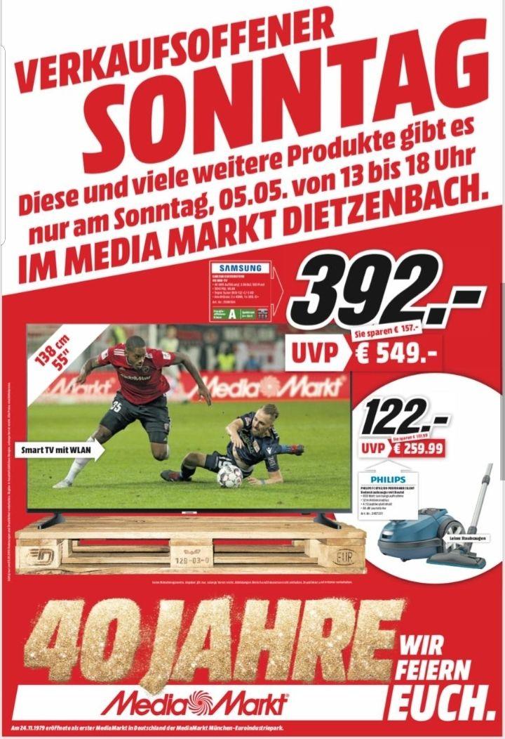 Samsung UHD 4k Wlan 55 Zoll (Lokal Media Markt Dietzenbach)
