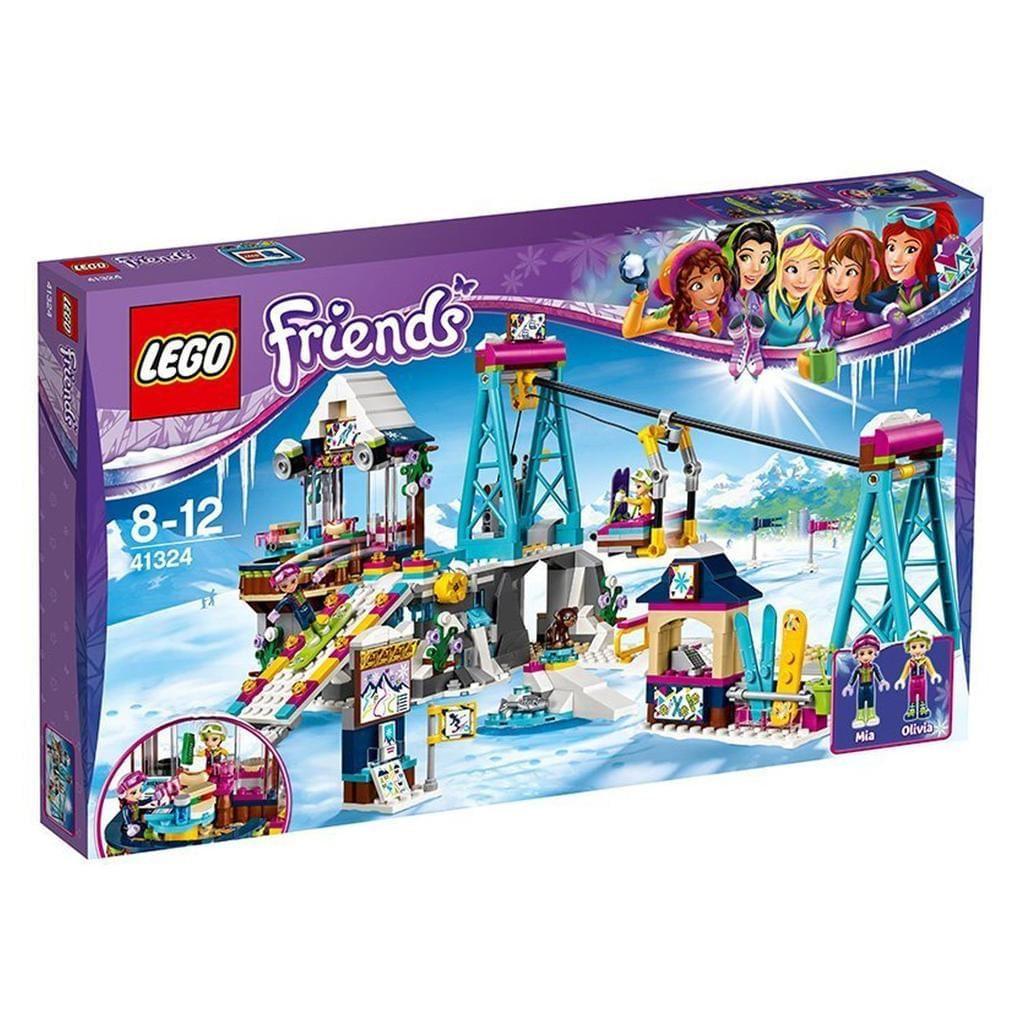 LEGO 41324 Friends: Skilift im Wintersportort