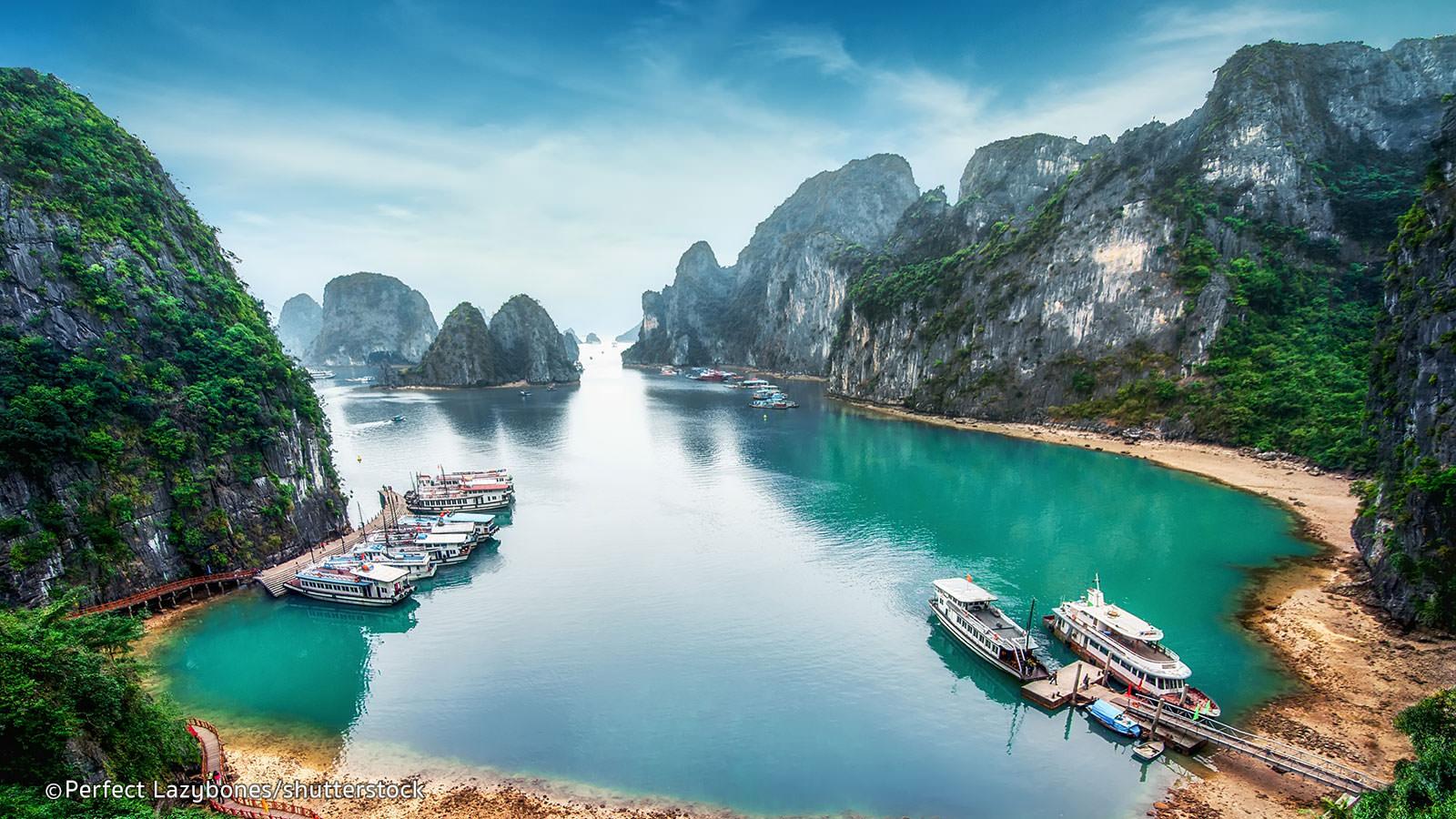 Vietnam [August - November] Hin- und Rückflug mit Vietnam Airlines / Air France von Düsseldorf nach Hanoi ab 414 € inkl. Gepäck
