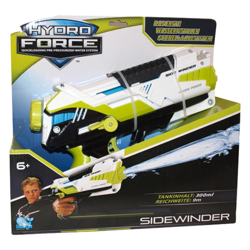 Beluga Wasserpistole Hydro Force Sidewinder mit Zusatzmagazin