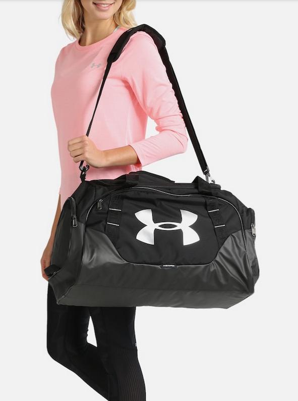 [About You - mit Shoop effektiv 24,22 €] UNDER ARMOUR Sporttasche 'Undeniable Duffle 3.0' - Medium - Farbe: silbergrau/schwarz