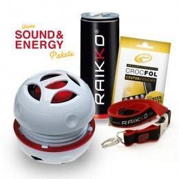 15% Rabatt im RAIKKO Online Shop z.B. RAIKKO Sound & Energy Paket XL - DANCE Vacuum Speaker + Zubehör für 25,46 Euro incl. Versand