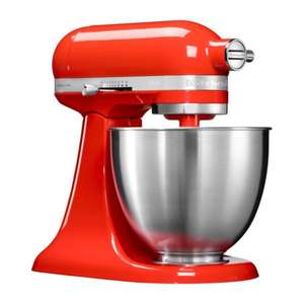 KitchenAid 5KSM3311XEHT Küchenmaschine 3,3 l, 250 W, Rot inkl. Gratis Backset