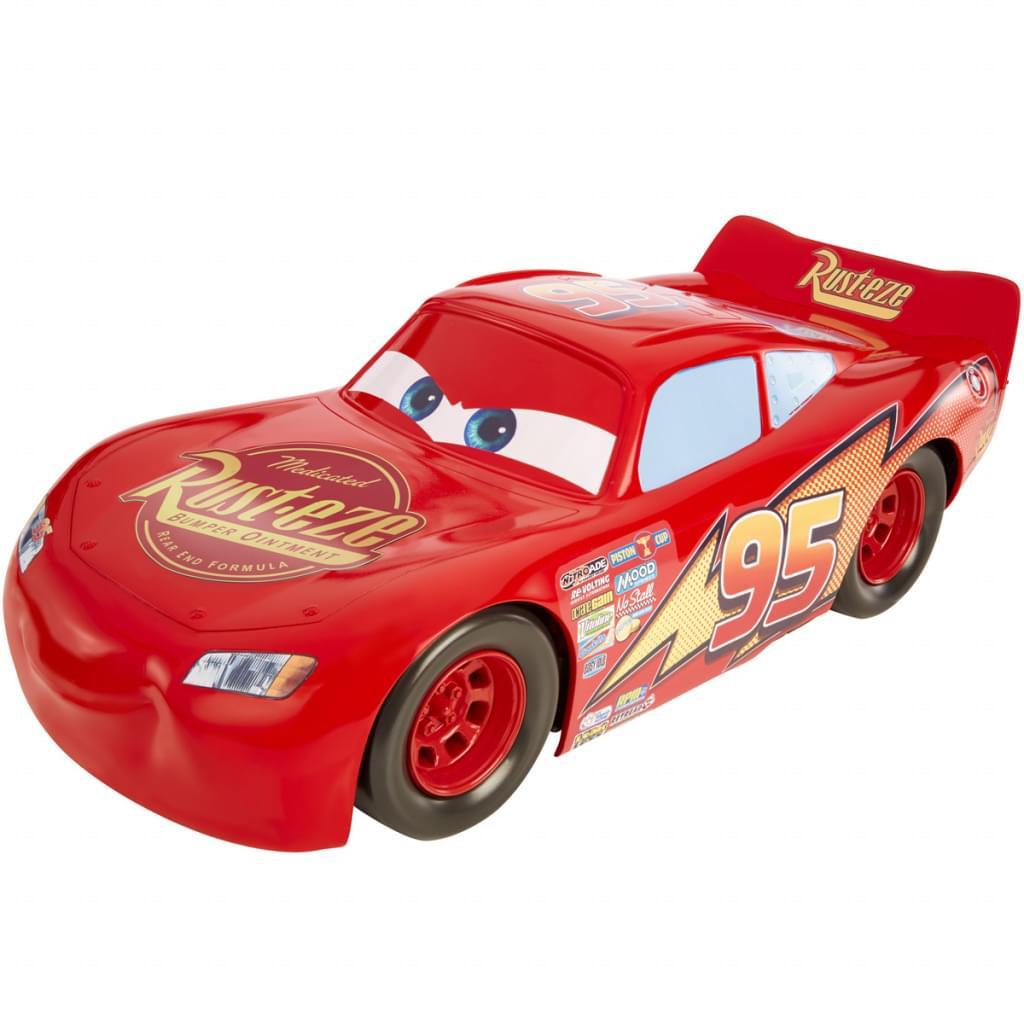 Mattel Disney Cars Lightning McQueen Fahrzeug 50 cm, extra großes Auto, Spielzeug für 11,77€ versandkostenfrei (Real)