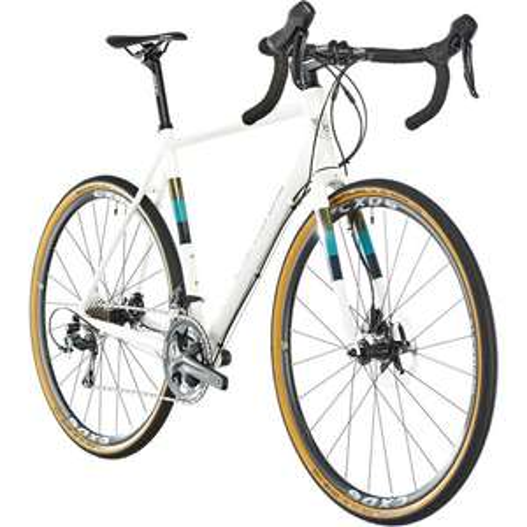 Gravel-Bike (Alu, Shimano Tiagra Schaltwerk, mit Scheibenbremse 35-622, Gewicht 10,28 kg)