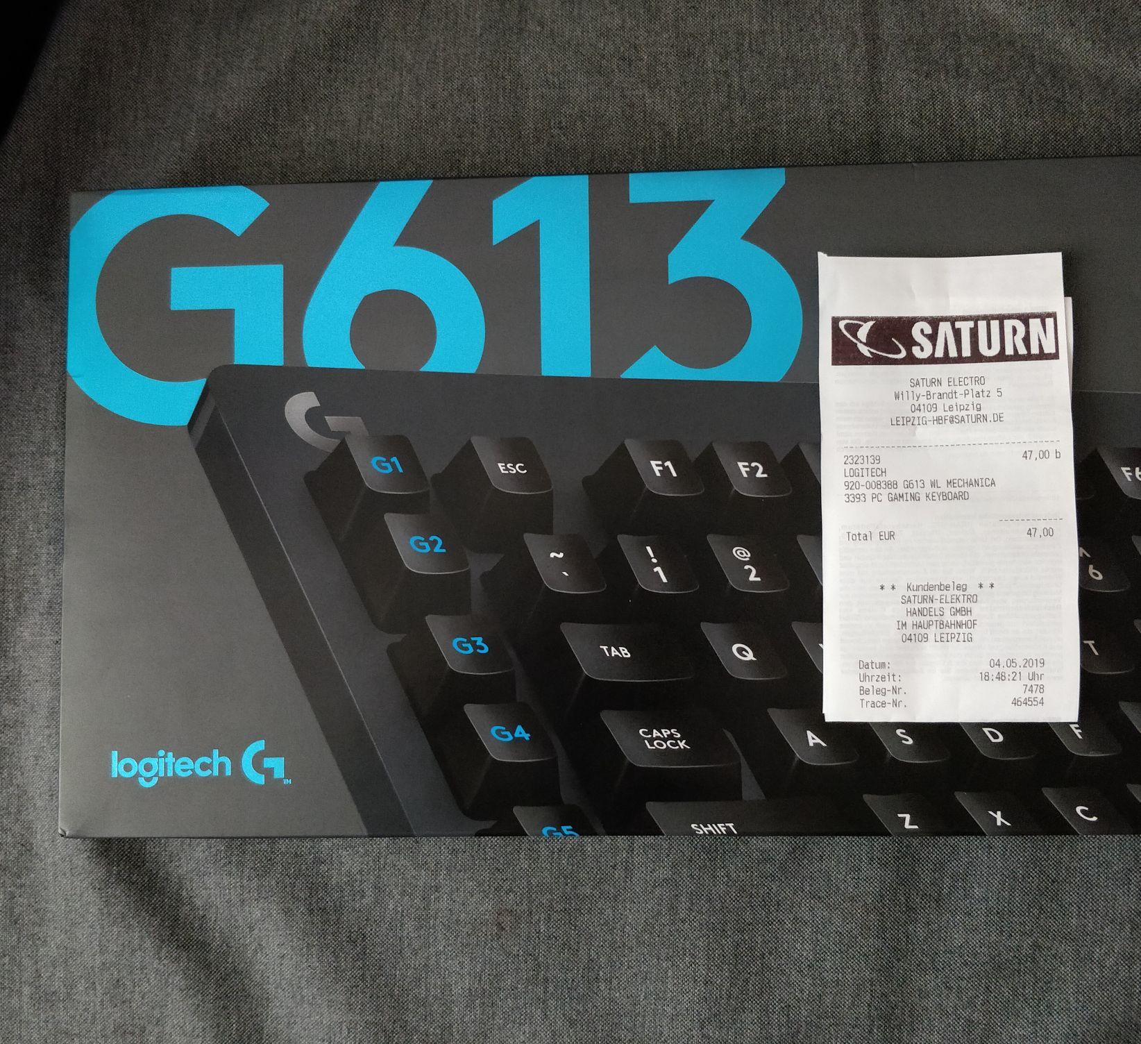 [Lokal?] [Saturn Leipzig] Logitech G613 kabellose mechanische Tastatur