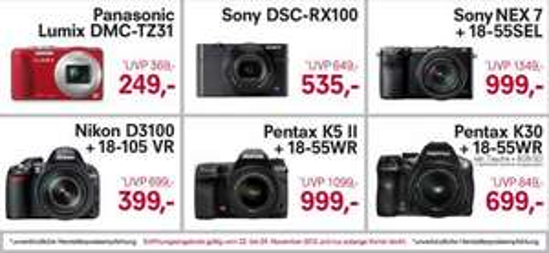 Nikon D3100 Kit 18-105 mm 399€  - 16% Billiger als Idealo [berlin]