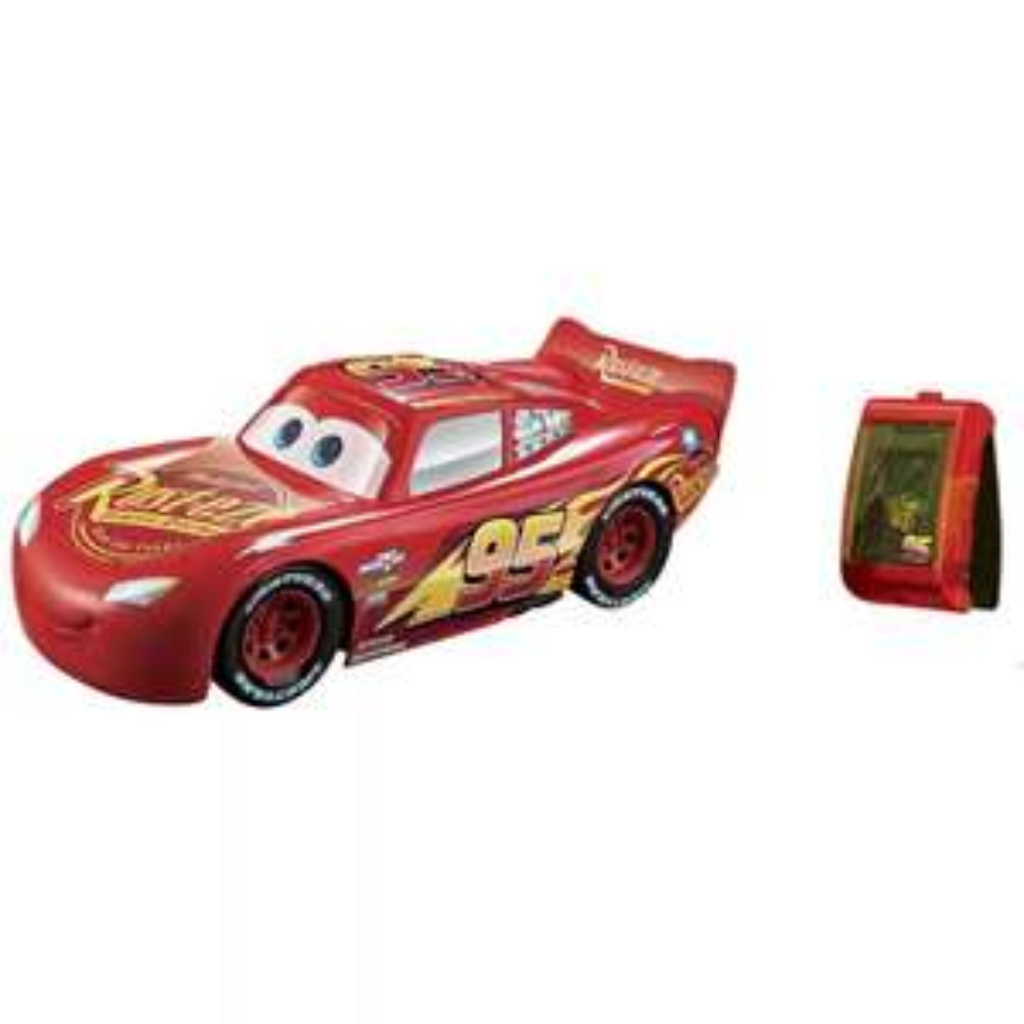 """Mattel Disney """"Cars 3"""" Rennfahrer-Lenkspaß Lightning McQueen (Armband-Fernsteuerung mit Gestenerkennung) *versandkostenfrei* [Real.de]"""