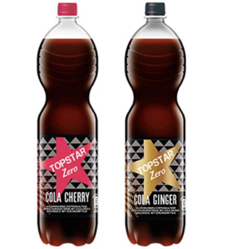 [ALDI Süd] Topstar Cola Zero Cherry oder Ginger - 0,39 Euro / 1,5 Liter Flasche - ab 10.05.2019