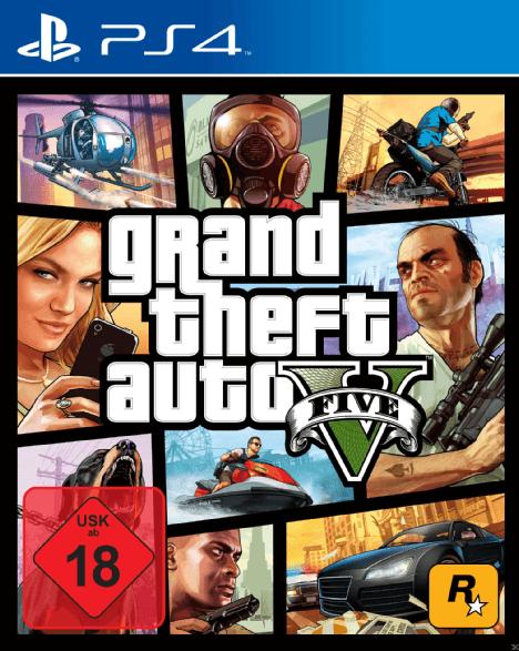 GTA 5 - Grand Theft Auto V (PlayStation 4)[LOKAL, MediaMarkt Wuppertal]