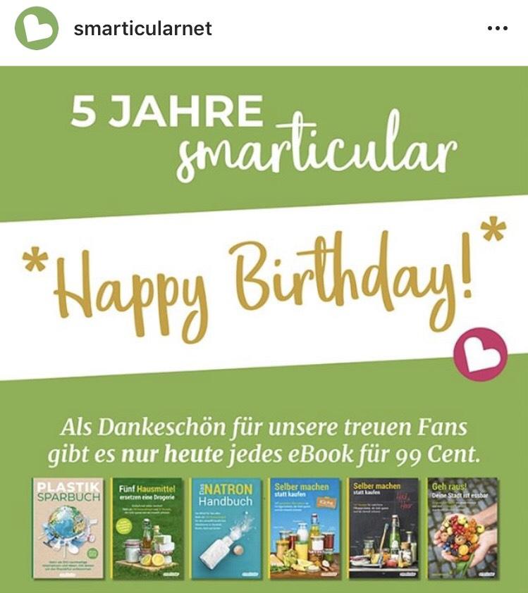 Alle 6 Smarticular eBooks - Plastiksparbuch, Selber machen... *Nachhaltigkeit*