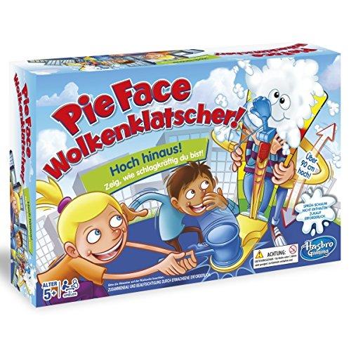(Prime / Plus Produkt) Hasbro Spiele C2130100 - Pie Face Wolkenklatscher, Kinderspiel