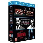 (UK) Casino / American Gangster / Carlito's Way [3 xBlu-ray] für 14.49 € @ Play