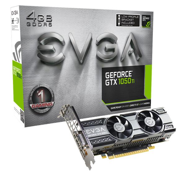 [EVGA Shop] EVGA GeForce GTX 1050 Ti GAMING,4GB GDDR5, ACX 2.0, Low Profile + PowerLink Adapter inkl. Versand