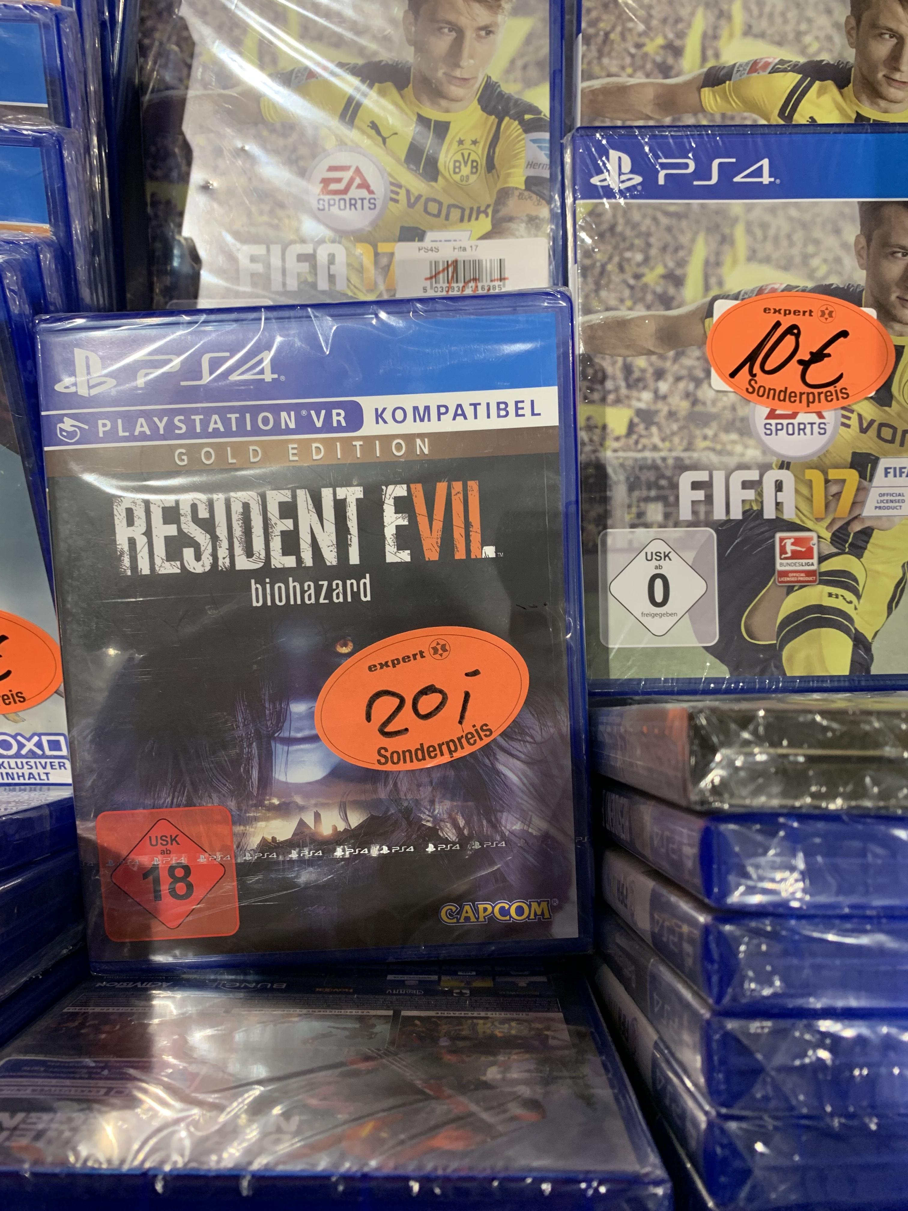 [Regional Lüneburg Expert Bening] Resident Evil 7 Gold Edition PS4