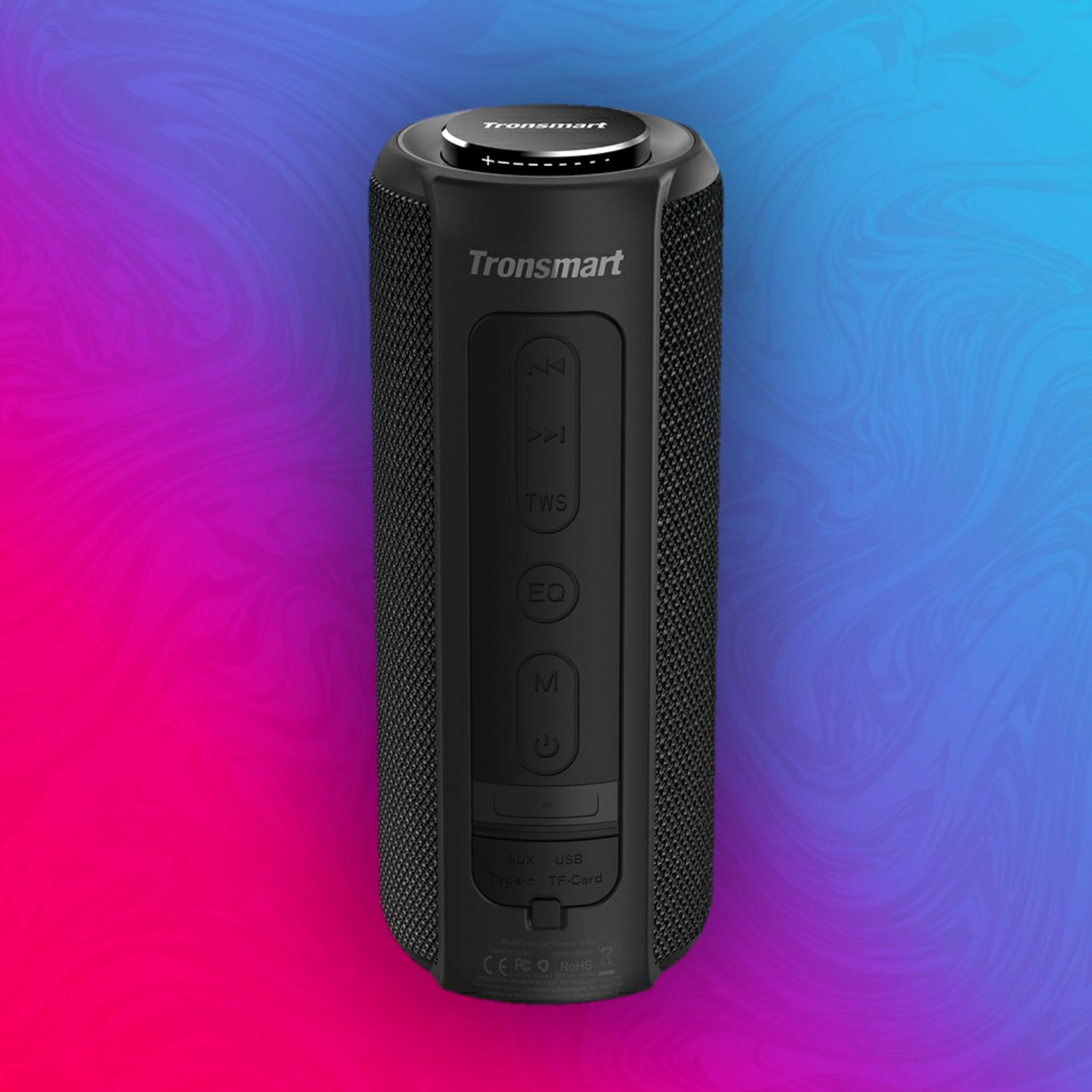 Tronsmart Element T6 Plus - 40W Lautsprecher - IPX6 Wasserdicht - 6600mAh Akku - A2DP, ACRCP, HFP