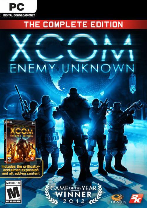 XCOM: Enemy Unknown - The Complete Edition (Steam) für 3,89€ (CDkeys)
