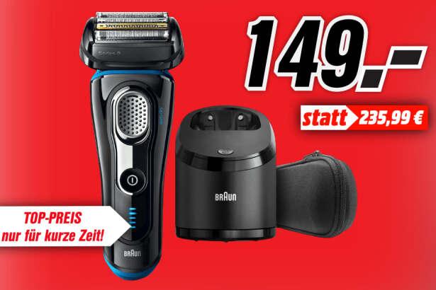[Lokal: Media Markt Leipzig Höfe am Brühl] Braun Series 9 9280cc Wet&Dry Herrenrasierer  + 30€ Cashback möglich