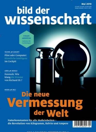 Bild der Wissenschaft Abo (14 Ausgaben) für 117,60 € mit 110,00 € Amazon-Gutschein oder 105 € Verrechnungsscheck