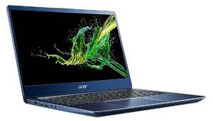 "Acer Swift 3 mit 14"" FHD matt, i5-8265U, 8 GB RAM, 256 GB SSD, Fingerprint, Alu-Unibody Gehäuse, Bel. Tastatur für 594,95€ + 100€ Cashback"