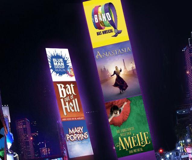 Diverse Stage Entertainment Musicals ab 30 € (+ 4,90 € VK)